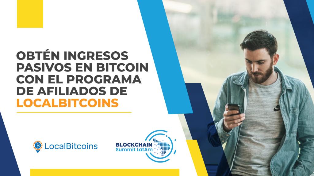 Programa afiliados LocalBitcoins